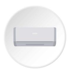 Ceramic heater icon circle vector