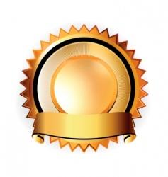 a satisfaction guaranteed seal vector image