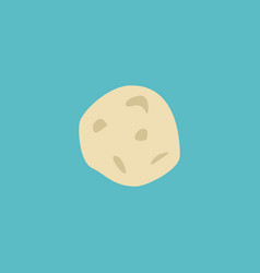 flat icon asteroid element of vector image