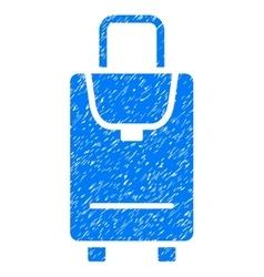 Carryon grainy texture icon vector