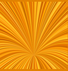 orange curved ray burst background - graphic from vector image vector image