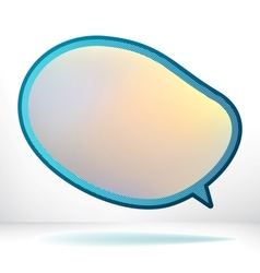Abstract speech bubble background EPS8 vector image