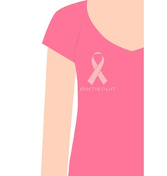 Breast Cancer Awareness cards design women wearing vector