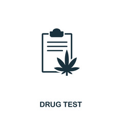 drug test icon premium style design from vector image