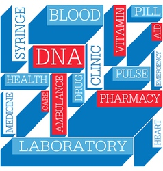medicine themed background seamless vector image