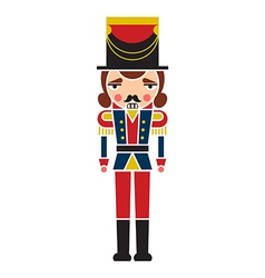 Nutcracker Soldier vector image