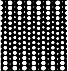 seamless pattern different sized circles vector image