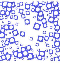social media background vector image