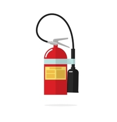 Fire extinguisher icon isolated on white vector image