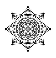 Mandala ornament vector image