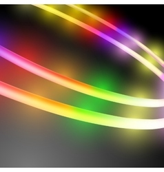 Abstract multicolored circle vector image