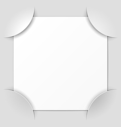 photo frame corners vector image vector image