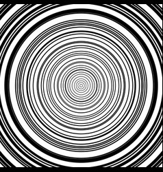 Concentric circles pattern abstract vector