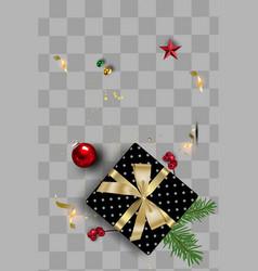 Objectselement for christmas social media vector