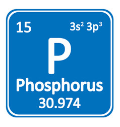 Periodic table element phosphorus icon royalty free vector periodic table element phosphorus icon vector image urtaz Image collections