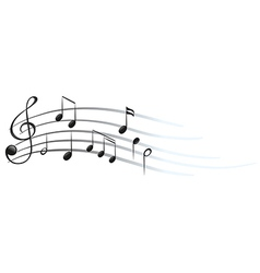 Musical notes and symbols vector image