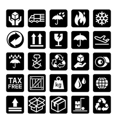 delivery icons3 vector image