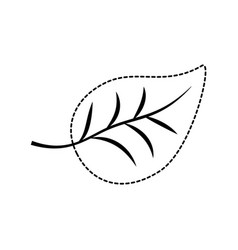 leaf icon image vector image vector image