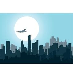 Nightly city4 vector image