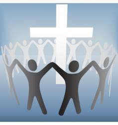 religious celebration vector image