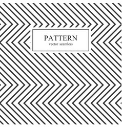 zig zag seamless geometric pattern vector image