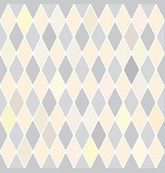harlequins silver selenium pattern vector image vector image