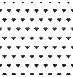 Diamond seamless pattern vector image vector image