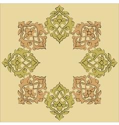 Artistic ottoman pattern series nineteen vector
