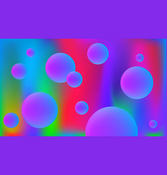 Background with violet fluid elements vector