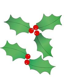 Christmas wreaths vector