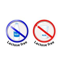 Lactose free vector