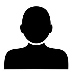 Man person - icon vector