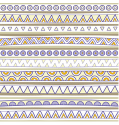 seamless multicolor pattern3 vector image