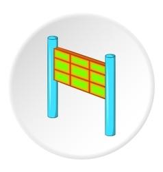 Traffic prohibition icon cartoon style vector image