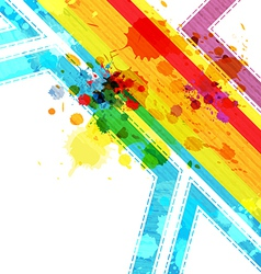 art abstract layout background design vector image vector image