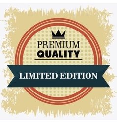 Label icon Premium and Quality design vector image vector image