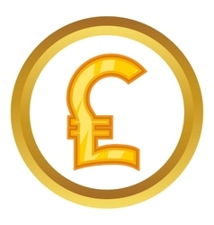 Pound sign icon vector image