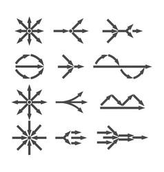 Simplify icon set vector