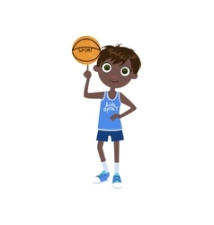 Child Basketball Player vector