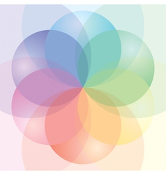 CMYK Palette vector image