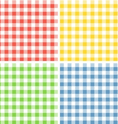 Color patterns collection vector