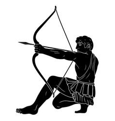 greek hero hercules vector image