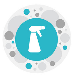 of hygiene symbol on spray vector image