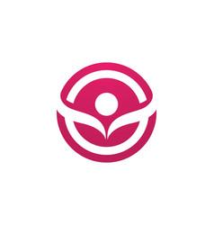 People care success health life logo vector