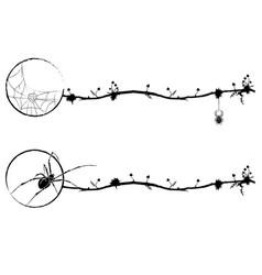 set of magic vignettes vector image