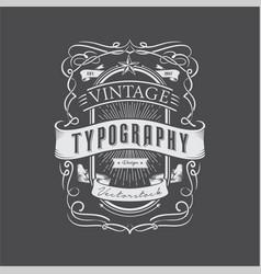 Vintage design 1 vector