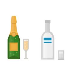 alcohol champagne drinks beverages cocktail drink vector image vector image