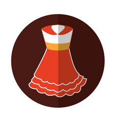 Typical spanish costume icon vector