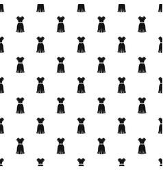 dress pattern vector image vector image