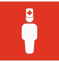 The doctor avatar icon Physician and practitioner vector image